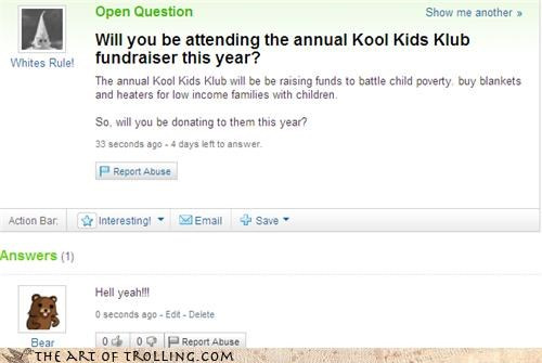 bad donation kids klub kool pedobear - 4076283392