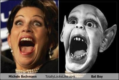 Bat Boy,creature,Michele Bachmann,politician