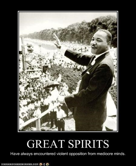 demotivational Hall of Fame lolz martin luther king jr vintage