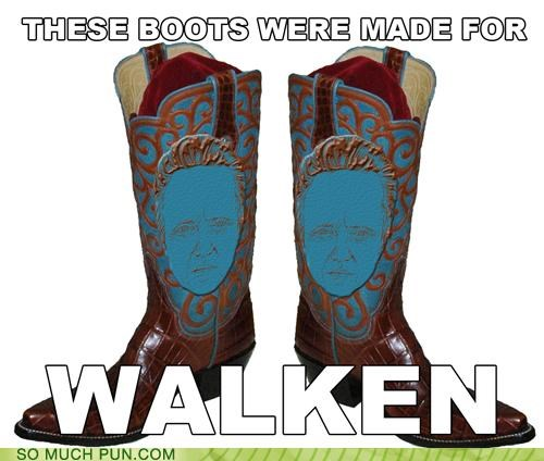 boots,christopher walken,cowbell,cowboy boots,lyrics,parody,song,these boots were made for walken