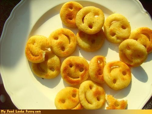 box faces fries frozen happy meals smiley