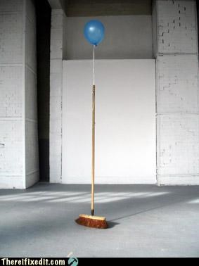 art,balloon,helium,not a kludge,stands