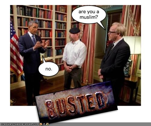 barack obama Democrat Hall of Fame mythbusters president TV - 4078755328