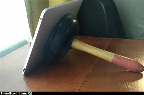 Apple product,computer stand,plunger