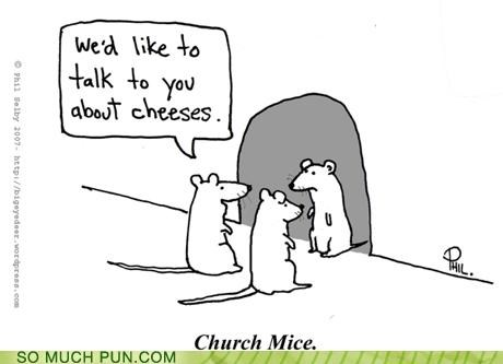 cheese cheeses church god gouda jesus mice missionaries mormons pepper jack preaching religion