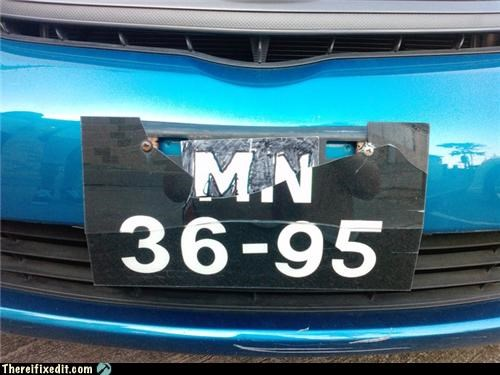 car license plate sharpie - 4080556800