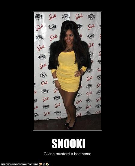 fashion,jersey shore,lolz,mustard,reality star,snooki