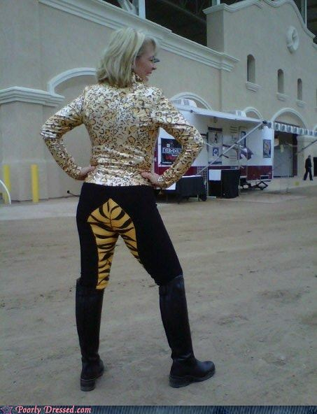 animal print bad idea cougar tacky