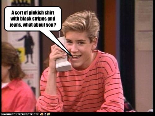 90s fashion lolz Mark-Paul Gosselaar phones saved by the bell TV - 4081402112