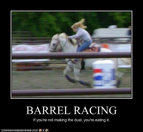 Barrel Racing Cheezburger Funny Memes Funny Pictures