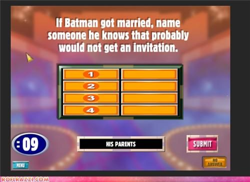answer batman Extras family feud superheroes - 4081528576