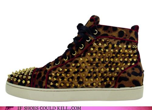 hardware,High Fashion,leopard print,louboutin,metal,punk,studded