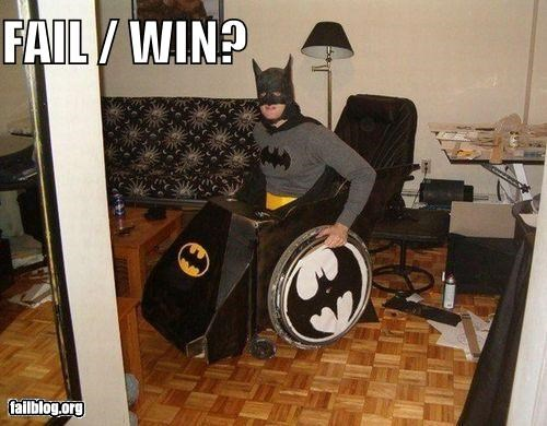 batman,costume,Fail-Win,failboat,g rated,halloween,poll,wheelchair