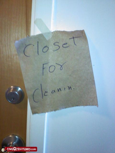 closed,closet,engrish,FAIL