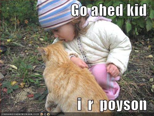 Go ahed kid  i  r  poyson