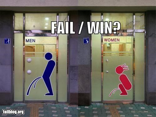 bathroom Fail-Win failboat g rated images poll signs - 4082736384