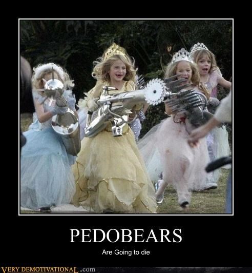 guns,impossible,kids,pedobear,princess,weapons,wtf