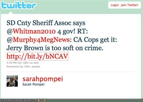 FAIL funny meg whitman tweet twitter - 4084736768