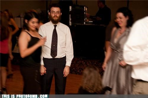 beard,Champion,epic,formal,Party,photobomb,space-time continuum,time travel