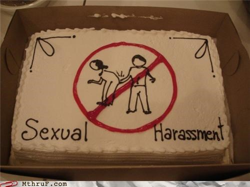 cake policy Portal sexual harassment