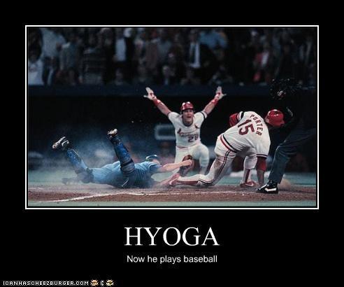 HYOGA Now he plays baseball