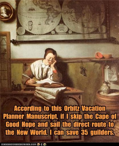art funny orbitz painting Travel vacation - 4086774272