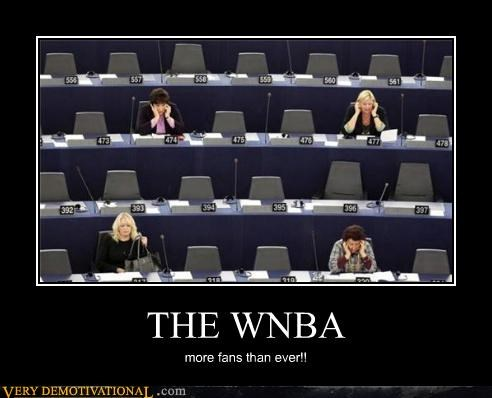 THE WNBA more fans than ever!!