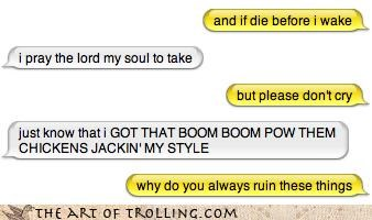 black-eyed peas boom boom pow down to sleep ichat now i lay me prayer religion - 4088095744