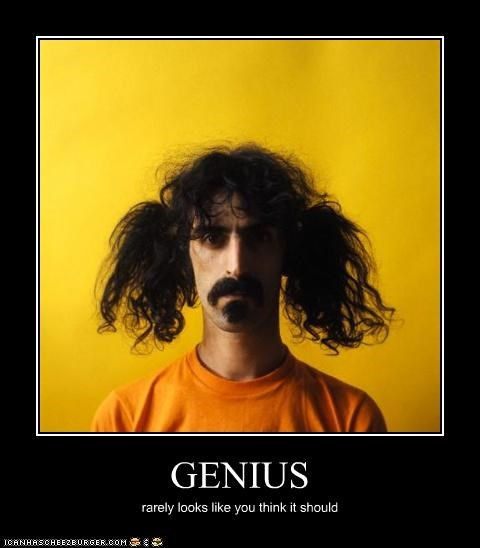 frank zappa genius lolz musician talent ugly - 4090736384