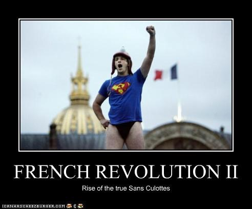FRENCH REVOLUTION II Rise of the true Sans Culottes