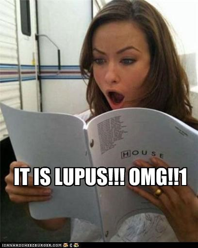 House MD,its not lupus,lolz,olivia wilde,spoilers,TV