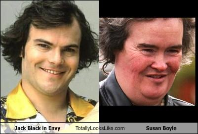 actor,envy,jack black,singer,susan boyle
