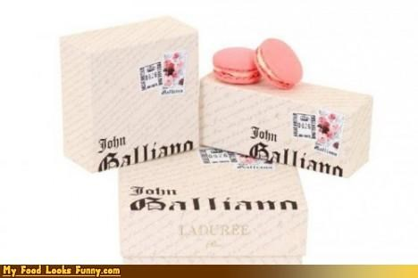 box,celeb,designer,expensive,fancy,john galliano,laduree,macarons,Sweet Treats