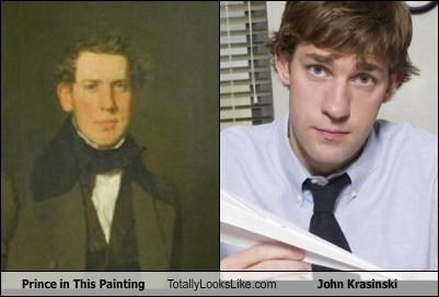 jim halpert,john krasinski,painting,prince,the office