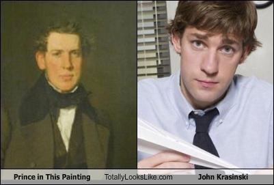 john krasinski painting prince the office - 4092369152