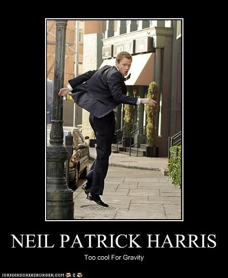 NEIL PATRICK HARRIS Too cool For Gravity
