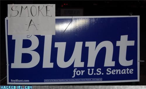 hacked politics signs smoke - 4093896960