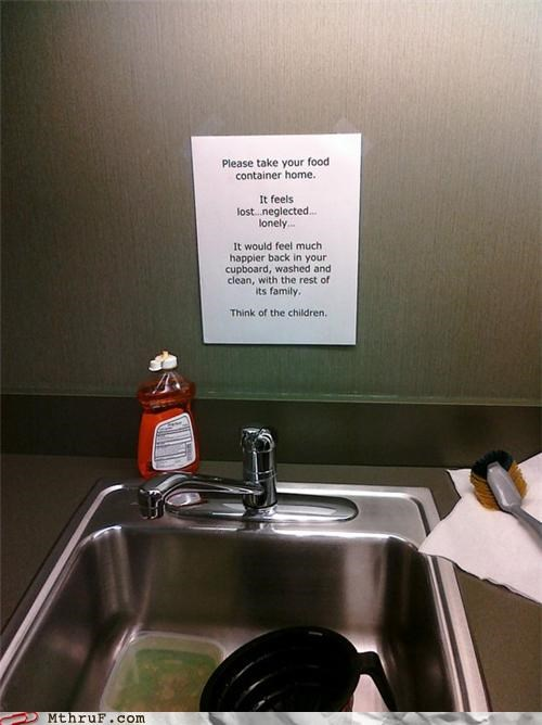 dishes passive aggressive signs - 4094404352