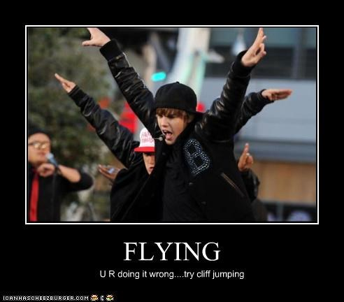 FLYING U R doing it wrong....try cliff jumping