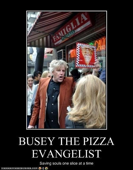 religion actor crazy gary busey lolz pizza souls