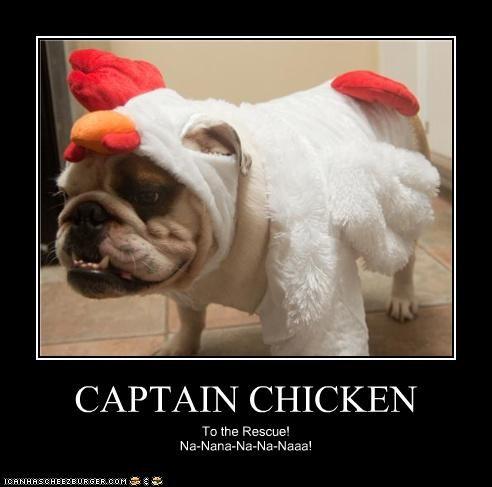 CAPTAIN CHICKEN To the Rescue! Na-Nana-Na-Na-Naaa!
