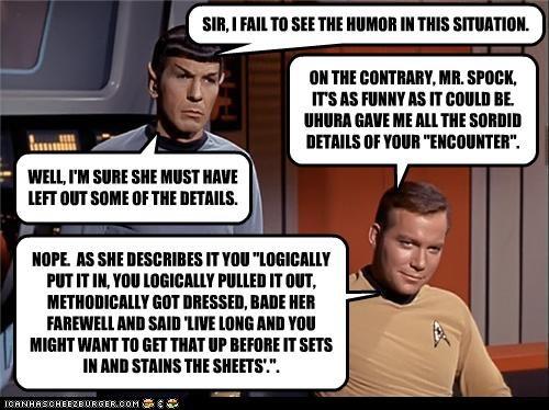 actor celeb funny Leonard Nimoy sci fi Shatnerday Star Trek William Shatner - 4098638848