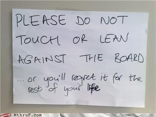 lean,passive aggressive,regret,signs