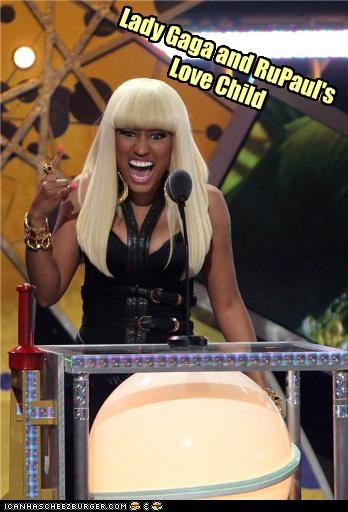 lady gaga lolz love child nicki minaj rapper rupaul - 4101548032