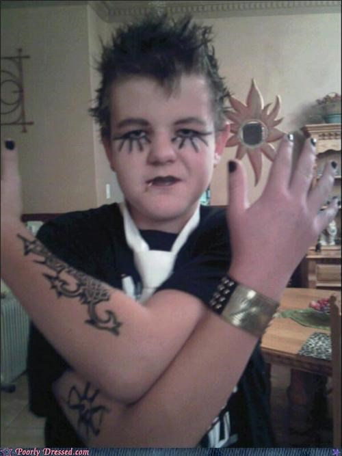 costume kid metal tattoo