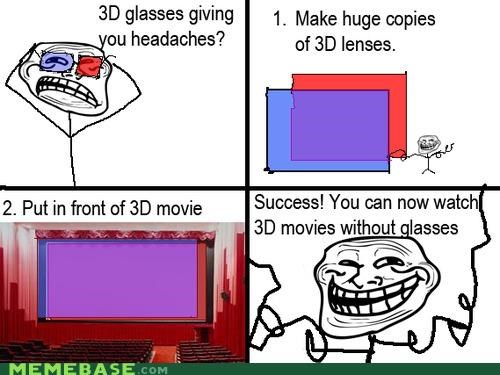 3d Memes movies troll guy troll science - 4101680896