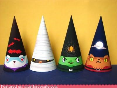 beards decor gnomes halloween hats pointy