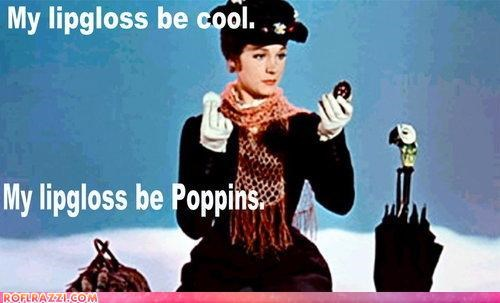 Extras,Julie Andrews,makeup,mary poppins,puns