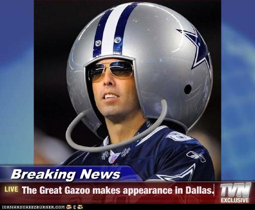 Breaking News - The Great Gazoo makes appearance in Dallas