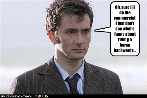 actor,commercials,David Tennant,doctor who,lolz,old spice,sci fi